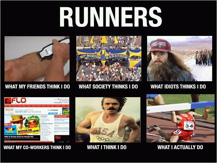 weekend humor runner style