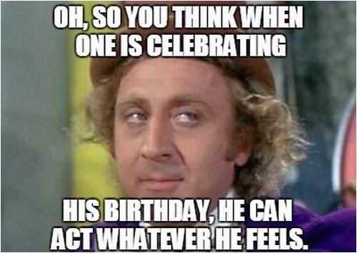 sarcastic birthday memes