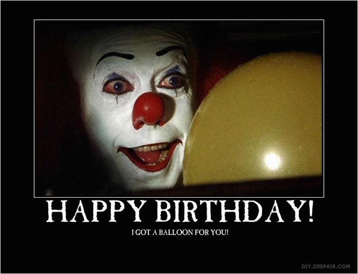 happy birthday clown