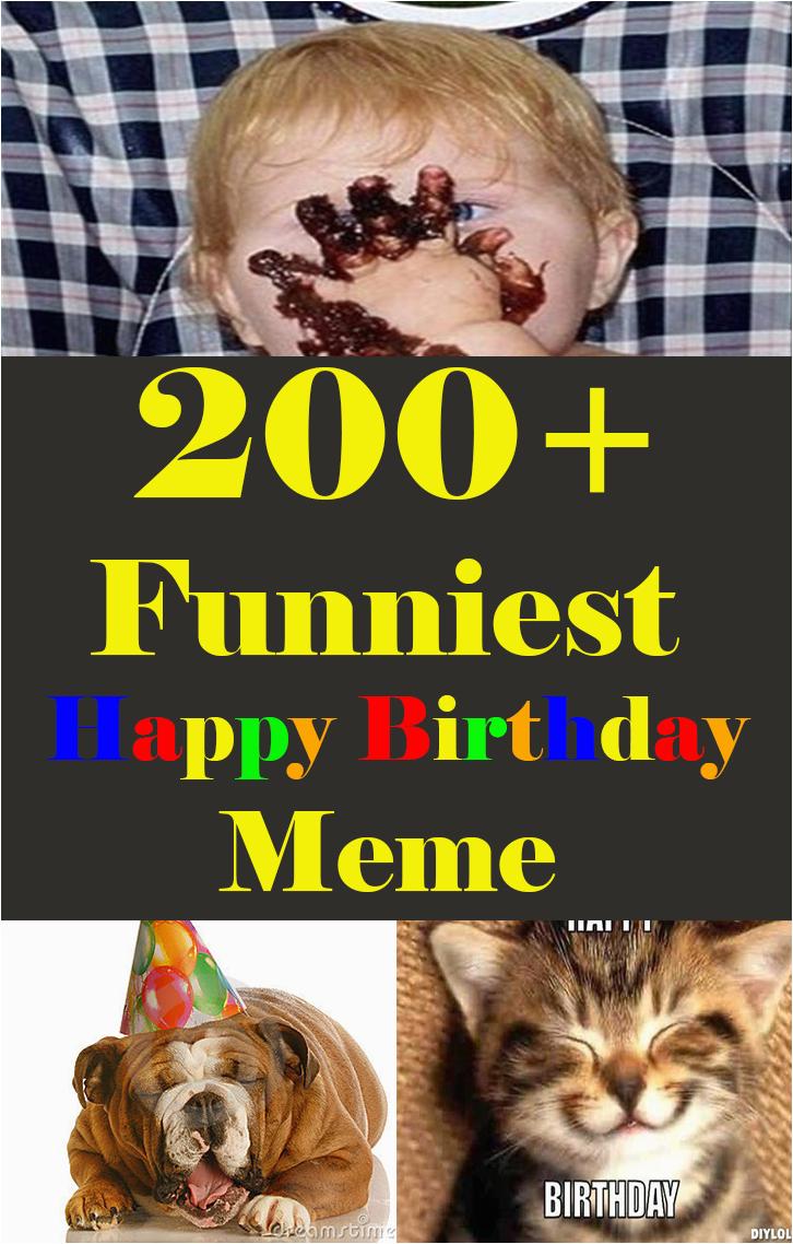 200 funniest happy birthday memes