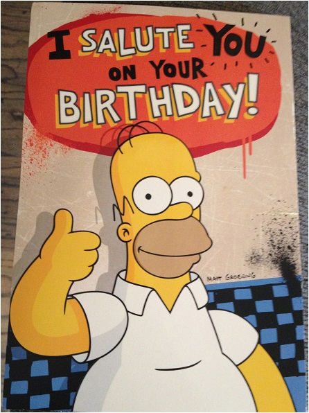 happy birthday meme simpsons