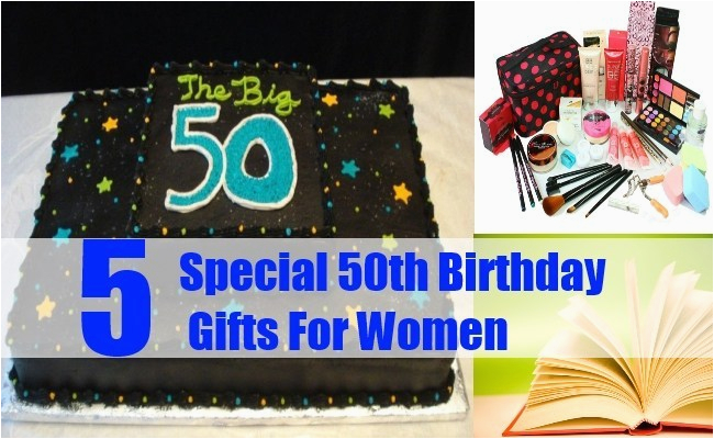 special 50th birthday gifts for women