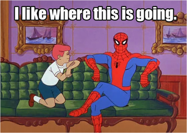 best spiderman meme