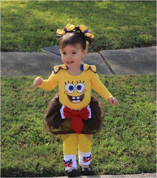 spongebob birthday costume for girls 1