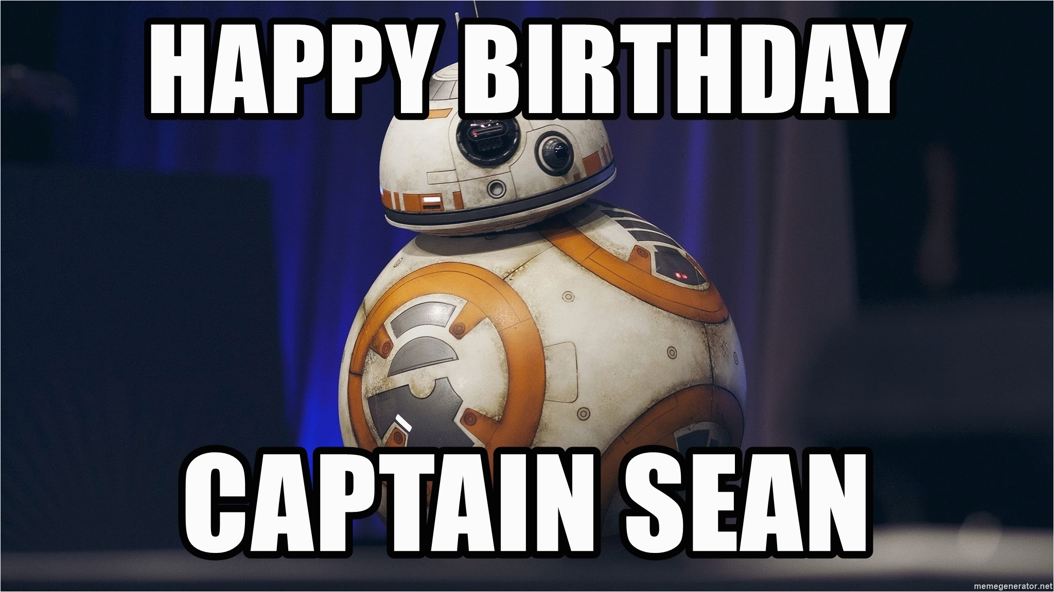 star wars birthday meme