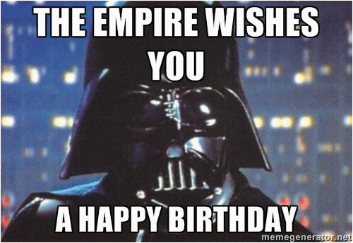 birthday quotes pix for happy birthday star wars meme