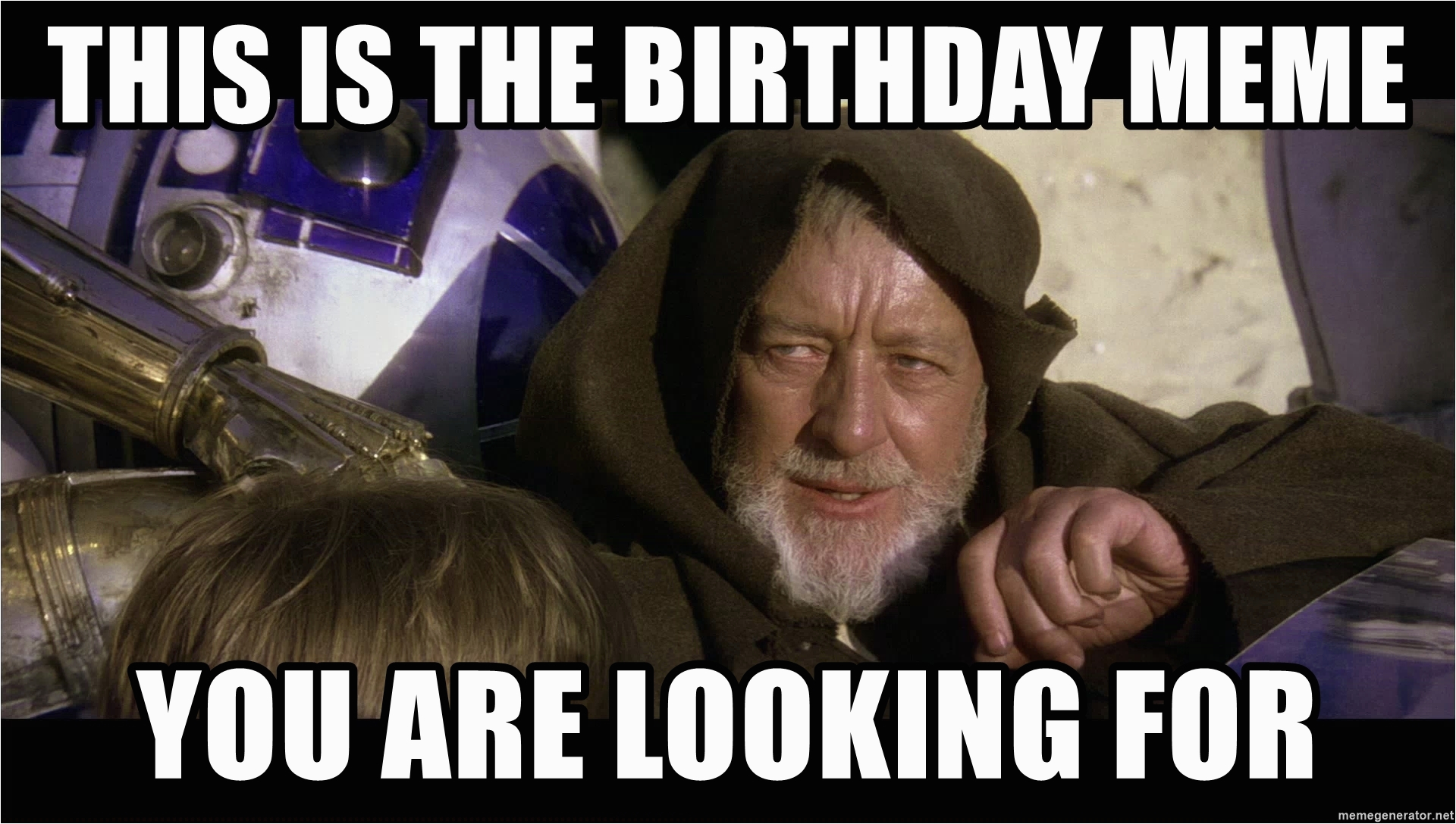 star wars obi wan kenobi this is the birthday meme you are looking for