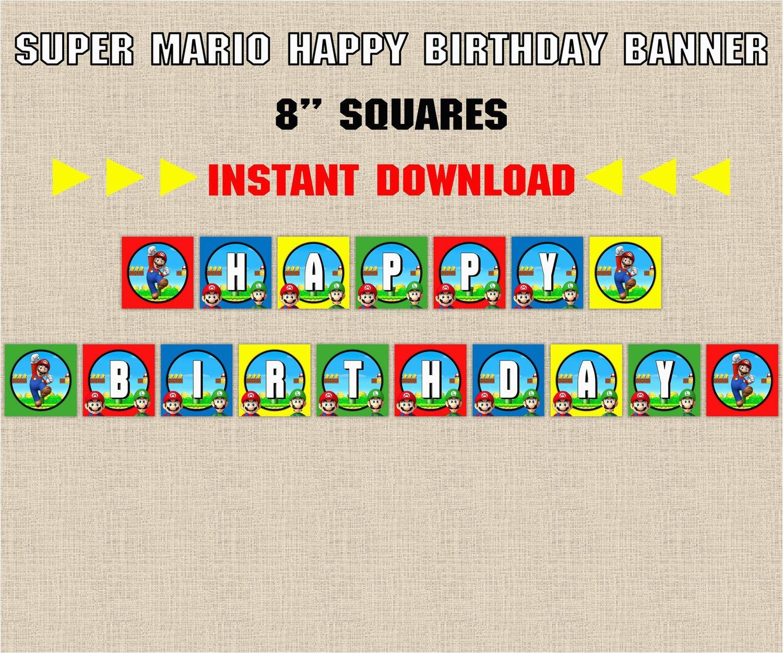 instant download super mario brothers