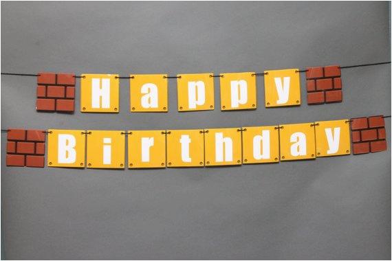 super mario happy birthday banner utm medium product listing promoted utm source bing utm campaign holidays birthday
