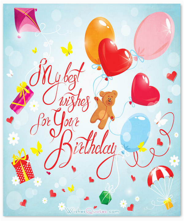 Sweet Message for Birthday Girl Birthday Wishes for A Special Girl