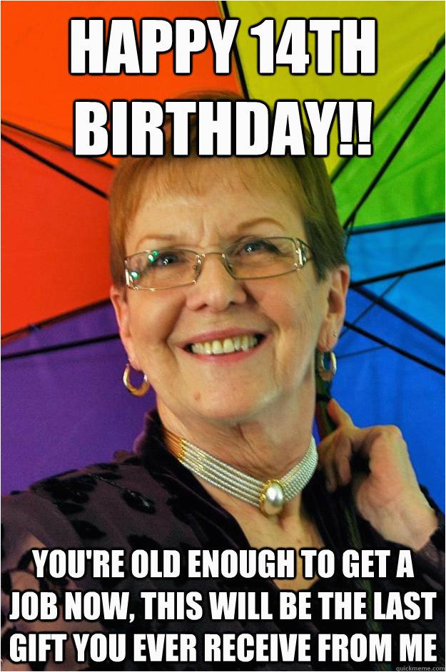 19 grandmother birthday meme