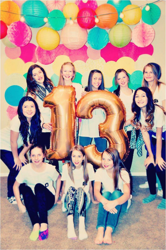 glam instagram themed 13th birthday party respond