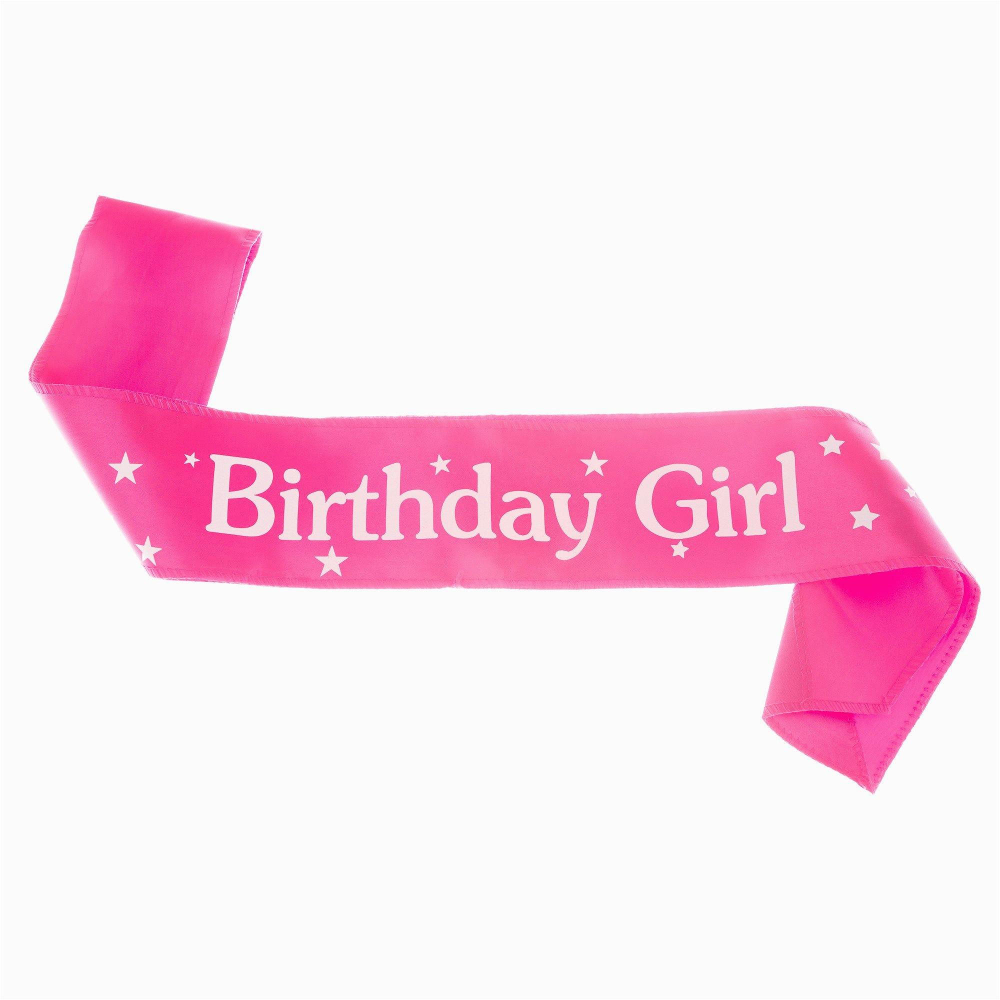 birthday girl tiara and sash