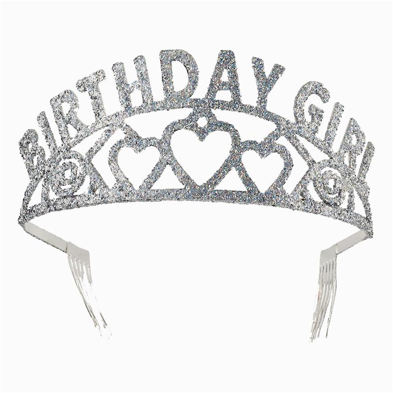 tiara birthday girl