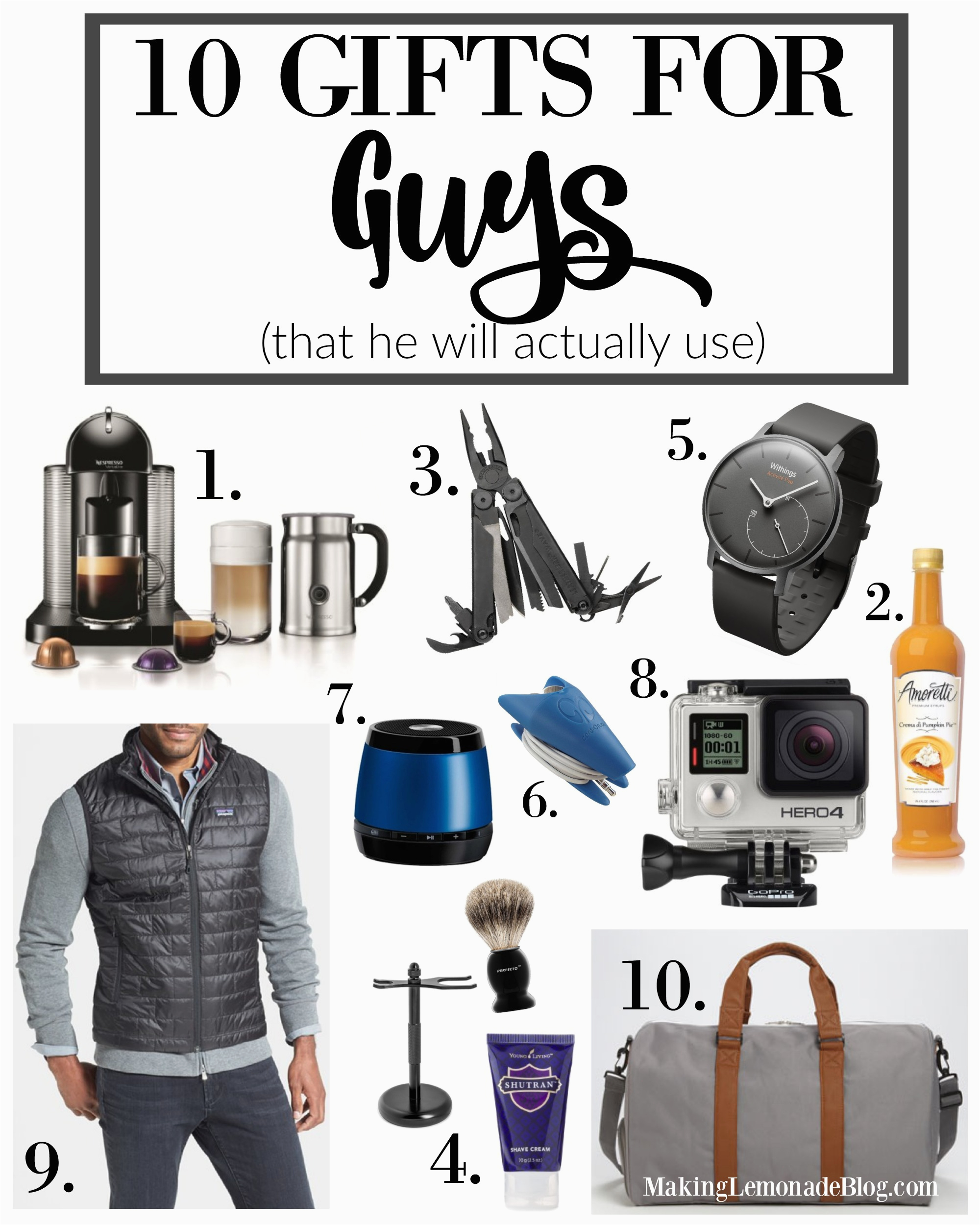 best gifts for guys gift ideas men gift guides 2015