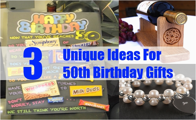 unique ideas for 50th birthday gifts