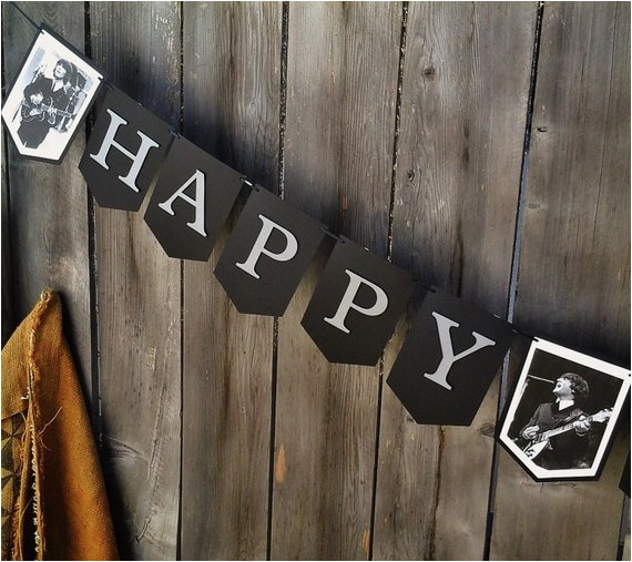 the beatles happy birthday banner unique