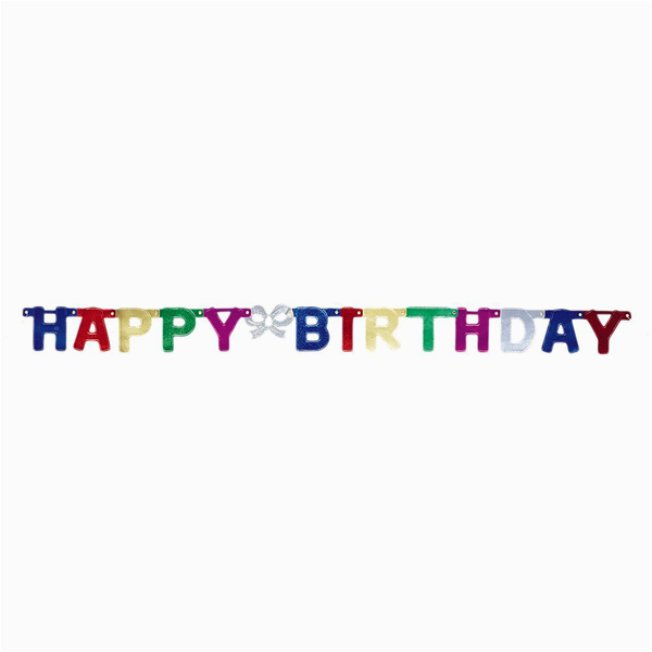 114037 unique party happy birthday jointed letter banner