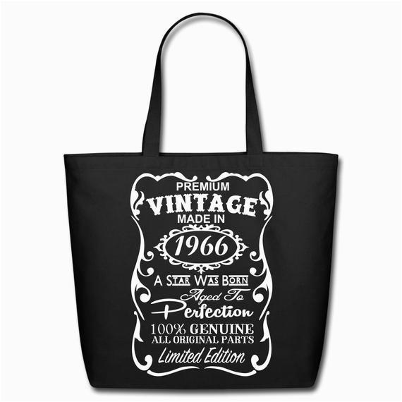 50th birthday gift ideas unique tote bag