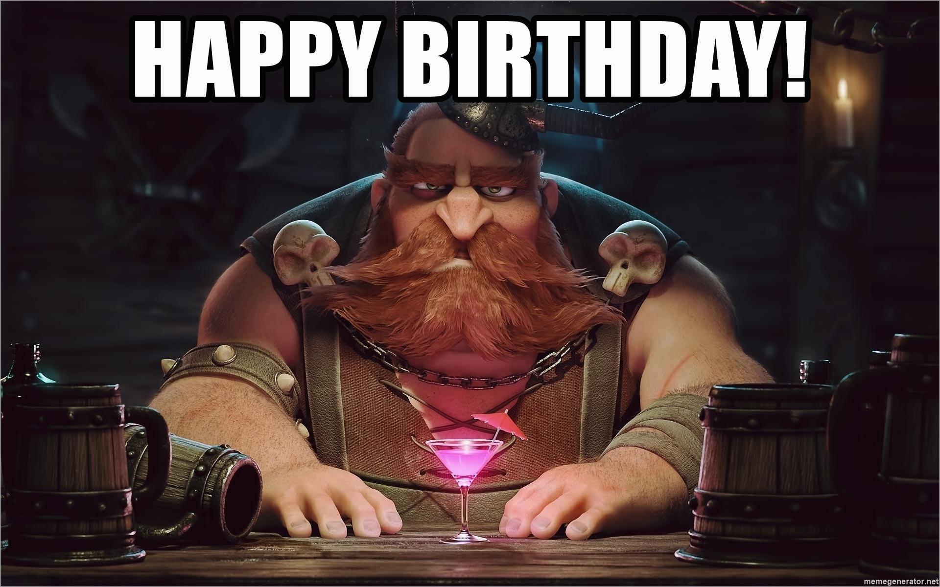 birthday viking happy birthday