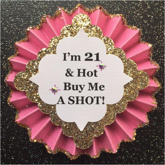 21st birthday button21st birthday
