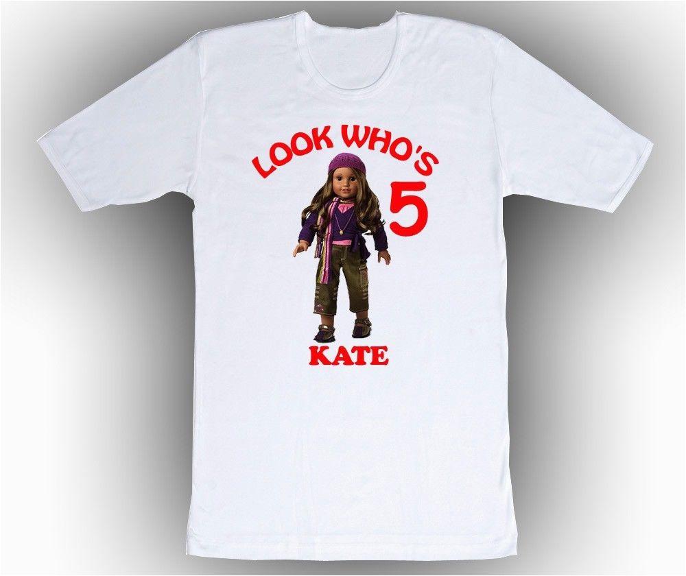 Where Can I Buy A Birthday Girl Shirt Personalized Custom American Girl Marisol Birthday Shirt