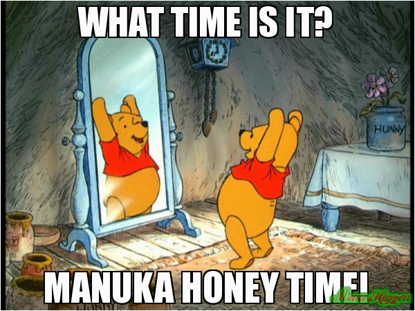 what time is it manuka honey time 80051