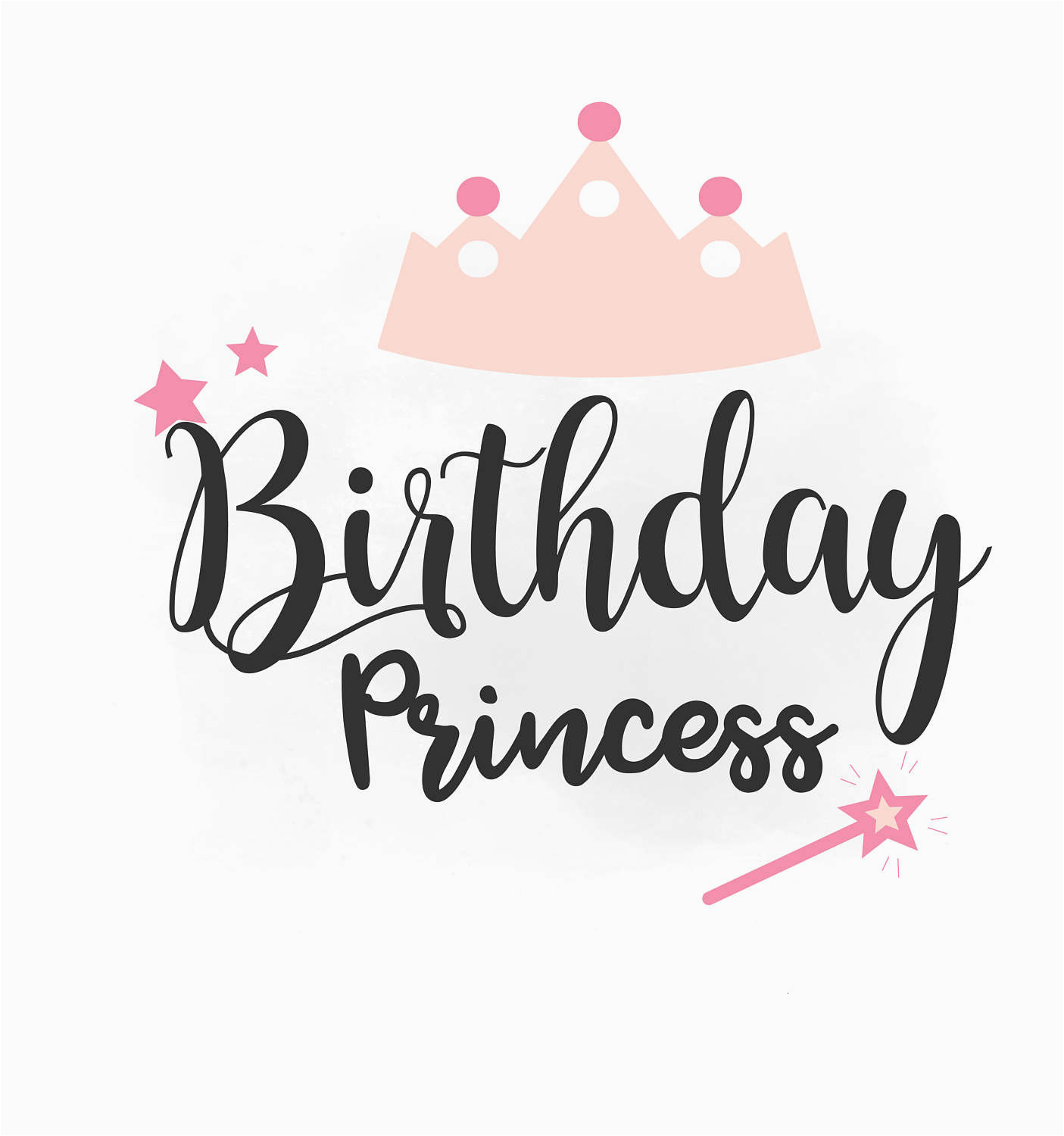 birthday girl svg clipart birthday girl