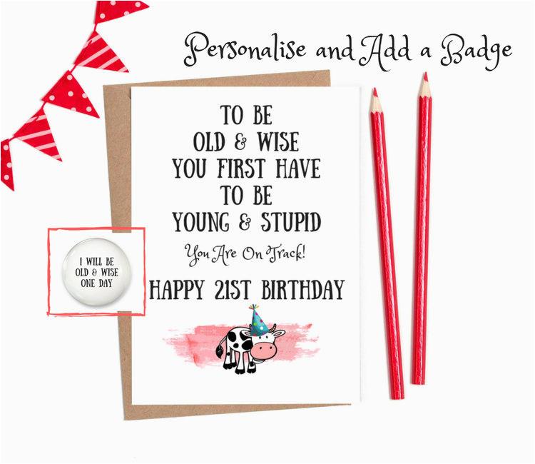 21st birthday for him funny 21 birthday