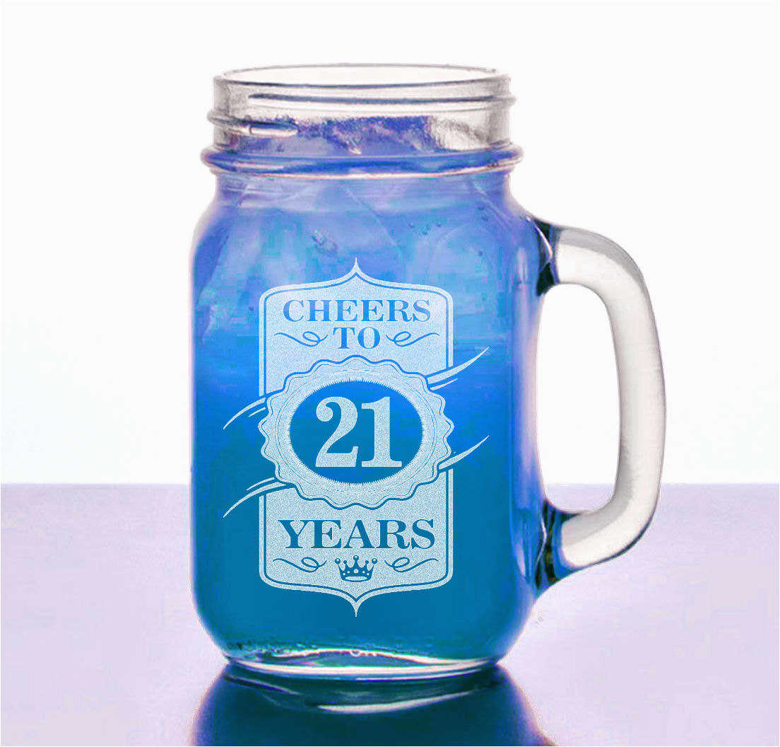 21st birthday gift for her him 16 oz