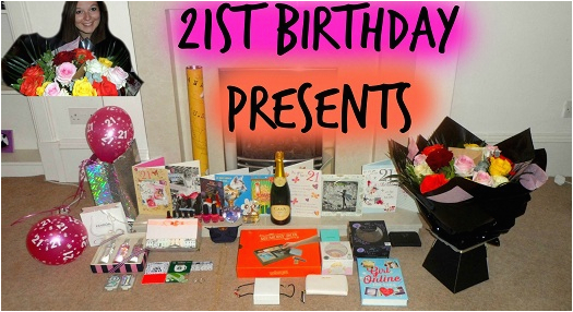 21st birthday gifts for him and her