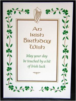 irish happy birthday quotes