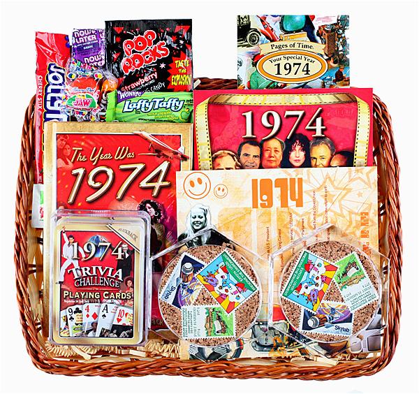 40th anniversary gift basket ideas