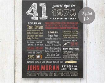 41st birthday