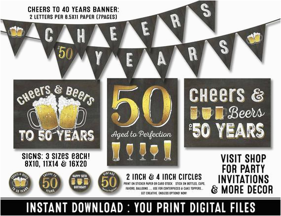 50th birthday party decorations 50th birthday 3