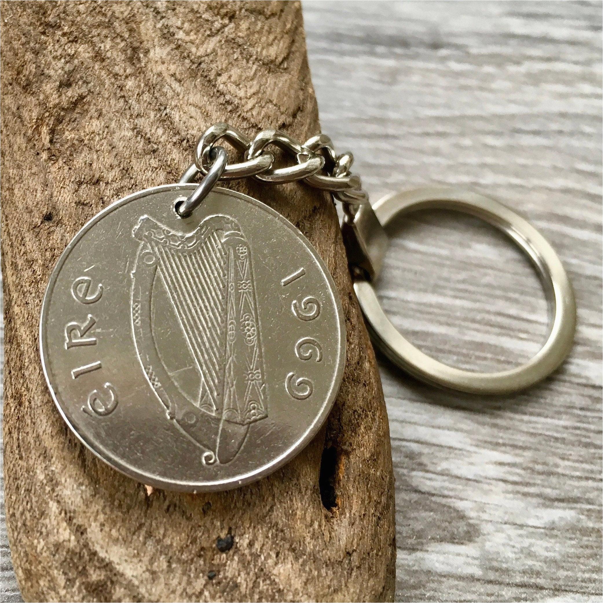50th birthday gift 1969 irish coin