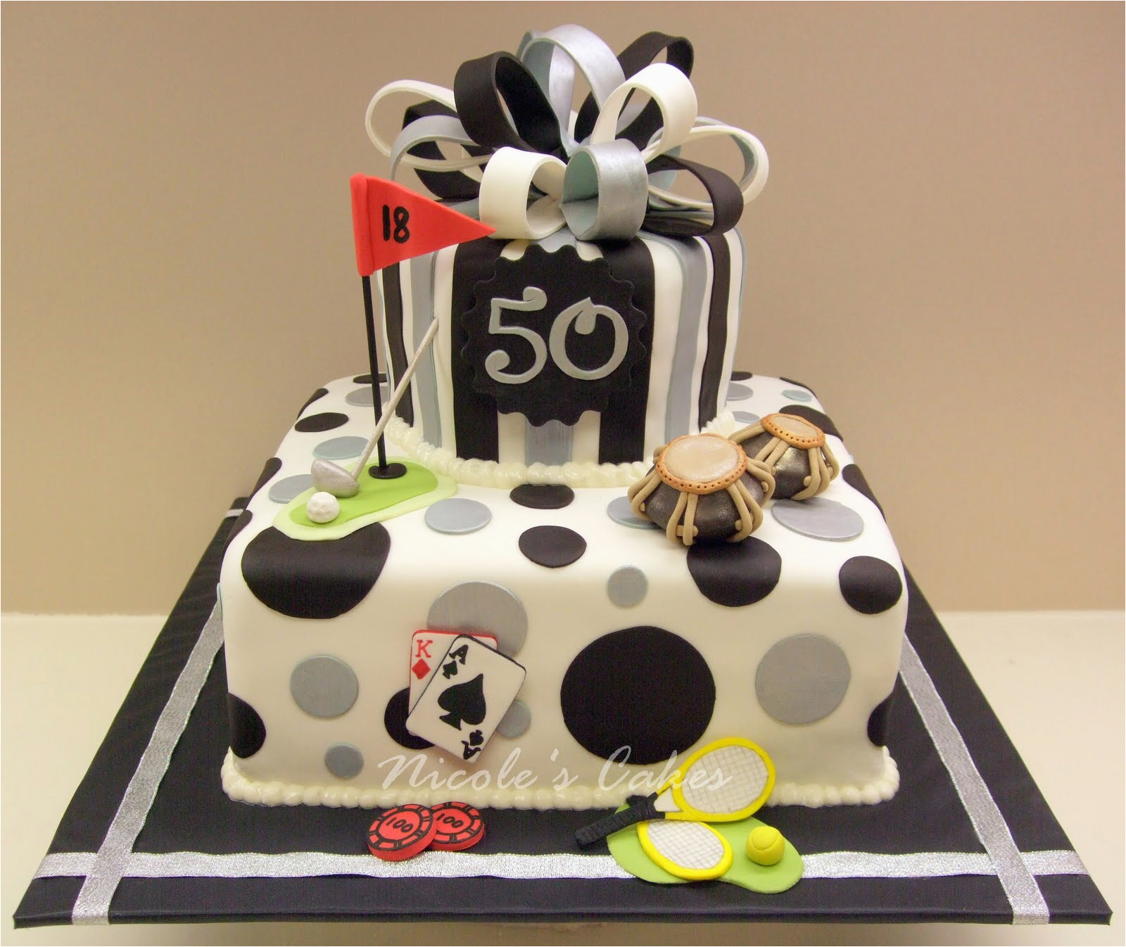 favorite things 50th birthday cake