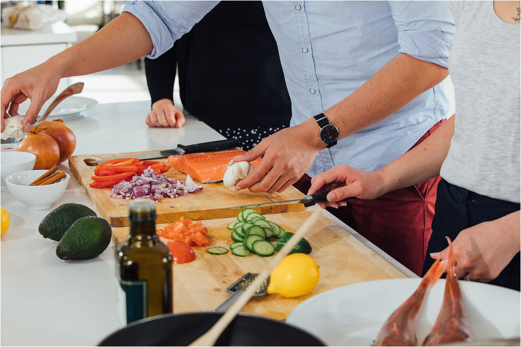 seafood cooking lesson 1 person auckland