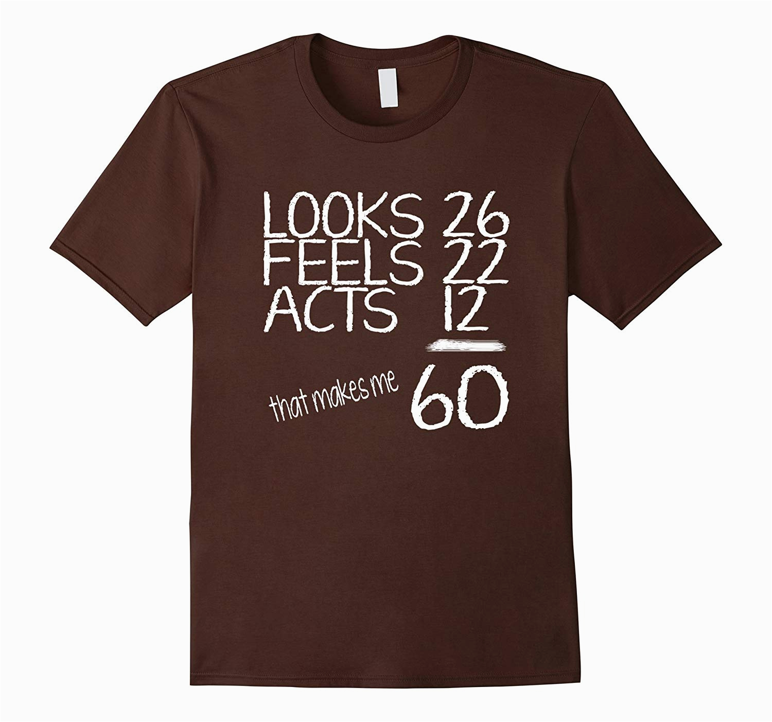 60th birthday gifts for him or her t shirt pl