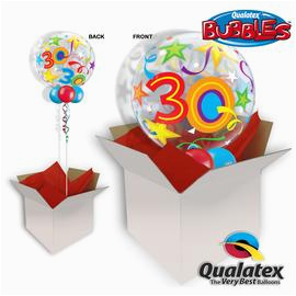 type balloon in a box