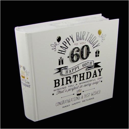 60th Birthday Ideas for Him Uk Signography Photo Album 4×6 60th Birthday