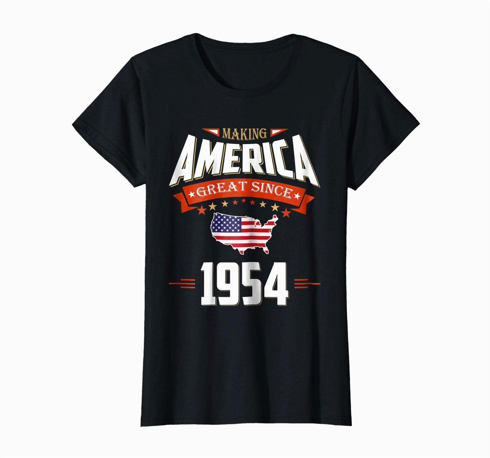 64th Birthday Gift Ideas for Him Brother Shirts 1954 Vintage Funny 64th Birthday Gift
