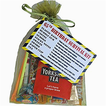 65th Birthday Gifts for Him Uk 65th Birthday Survival Kit for Him Royal Blue Joke A