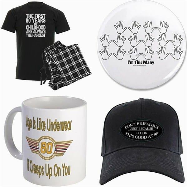 80th birthday gifts for men