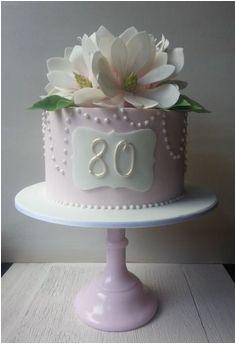 cakes 80th birthday