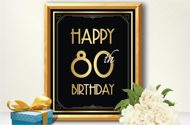 happy 80th birthday 80th birthday