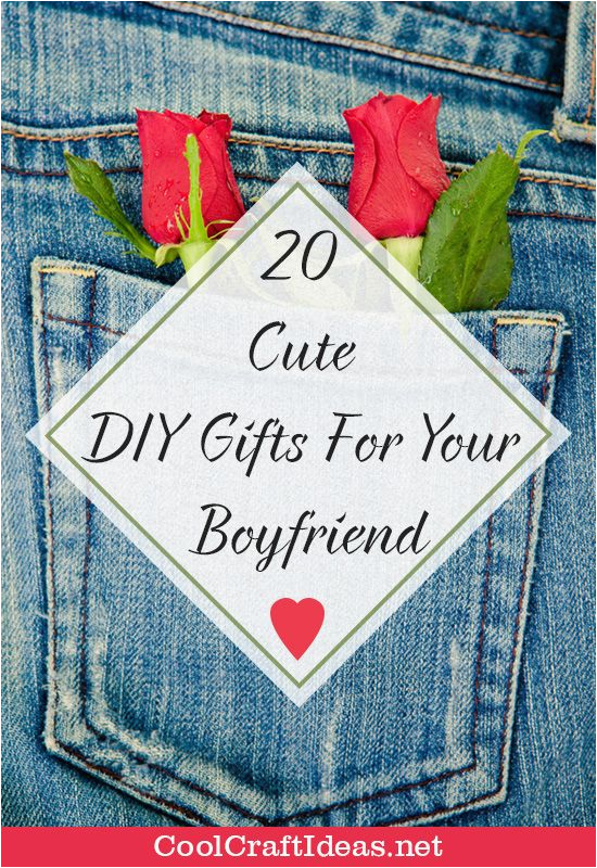 Beautiful Birthday Gifts for Boyfriend 20 Cute Diy Gifts for Your Boyfriend Cool Craft Ideas