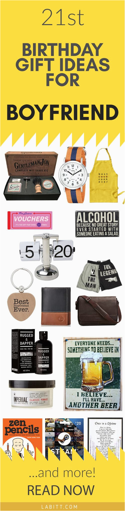 gift ideas for his 21st birthday