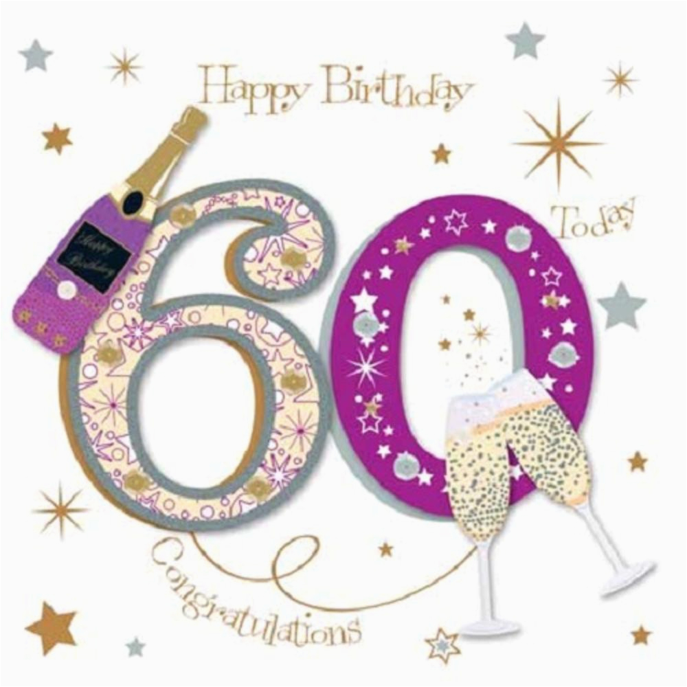 kctpmwer0015 happy 60th birthday greeting card by talking pictures greetings cards