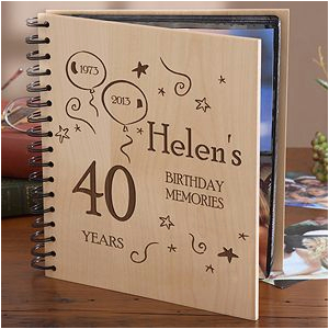 Birthday Gift Ideas for Him 23rd Ideas for Memory Book Cover for Birthday Party Google